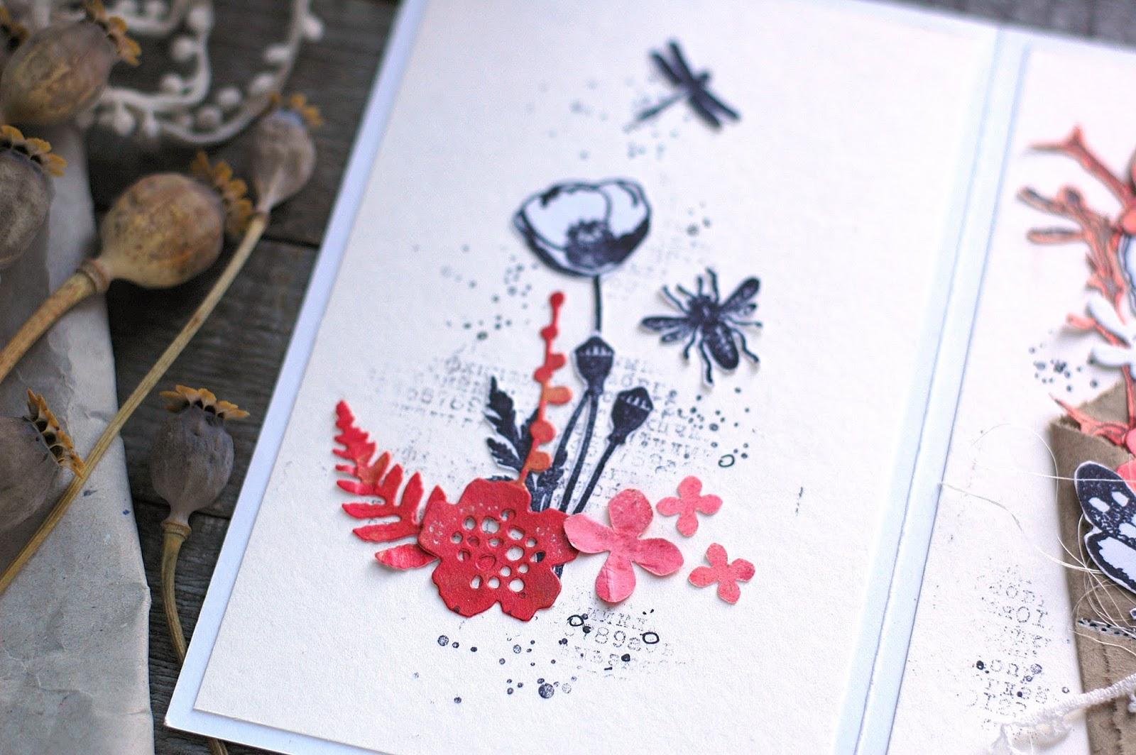 Поздравительной, открытки гербарий