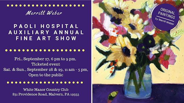 paoli-hospital-art-show-with-paintings-by-merrill-weber