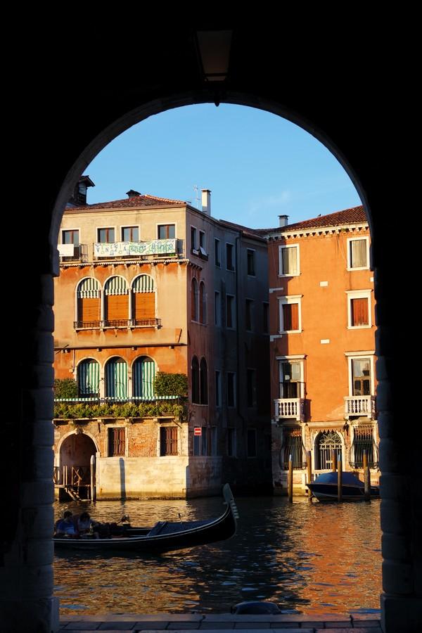 venise italie grand canal santa croce coucher soleil