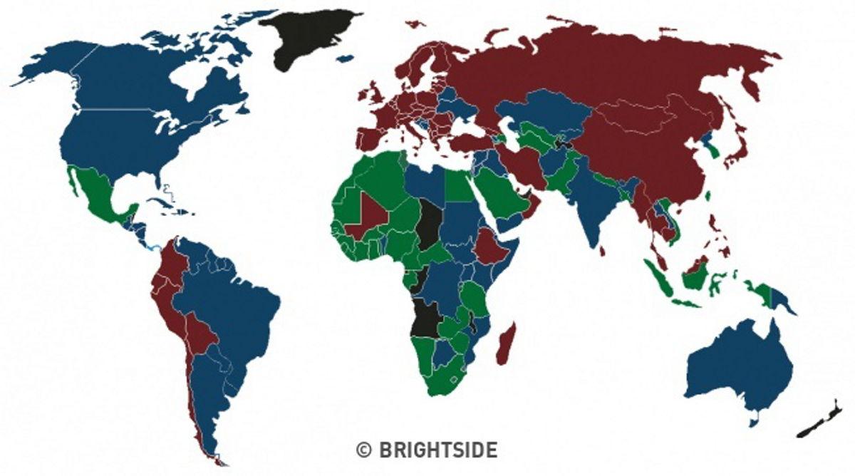 4 Ngjyra të Pasaportave në Botë, dhe Secila Ka Rëndësinë e Veçantë