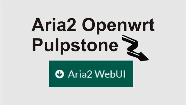 aria2 openwrt