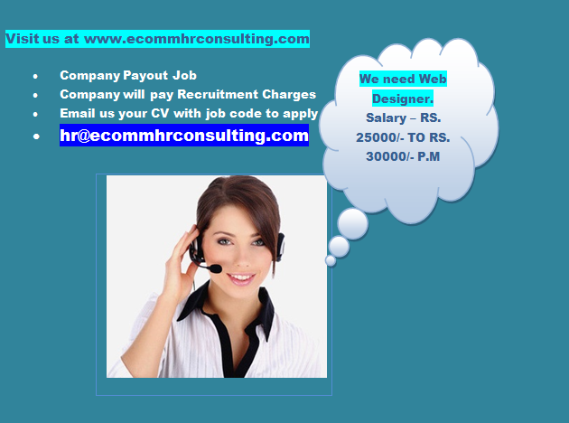 Ecomm Current Openings Urgent Opening For A Web Designer For An Academy In South Kolkata