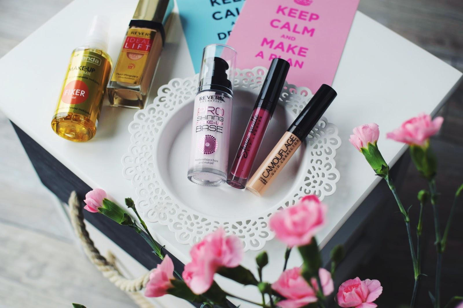Trzy marki kosmetyczne Revers, Bielenda i Sephora