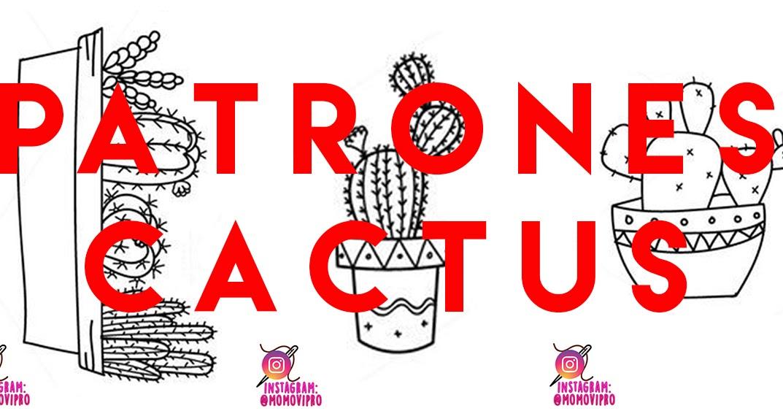 PATRONES BORDADO MEXICANO: CACTUS. - MOMOVIPRO 💙