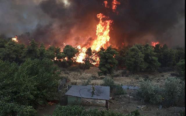 Θεσπρωτία: Και δεύτερη φωτιά μέσα σε λίγες ώρες σε βοσκοτόπια στο Σκάνδαλο Παραμυθιάς