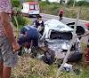Mulher morre em acidente entre caminhão e celta na BR 407 na manhã de hoje (16) em Sr. do Bonfim.