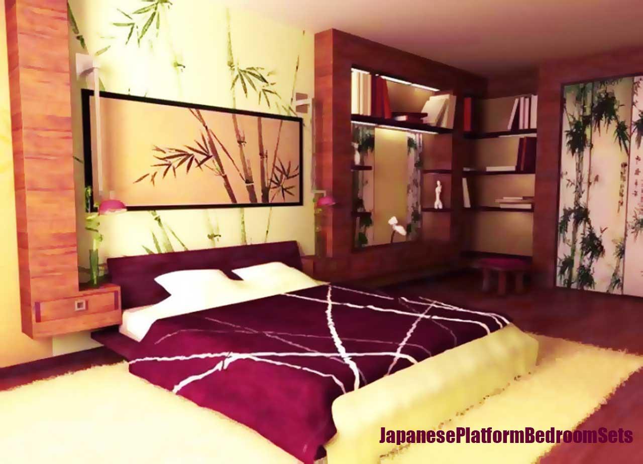 Modern Japanese Bedroom Furniture Japanese Platform Bedroom Sets