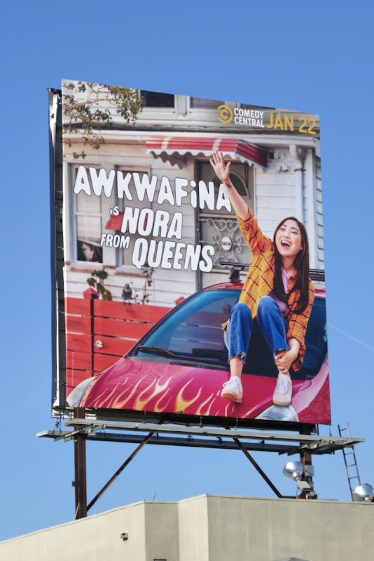Awkwafina is Nora from Queens series billboard