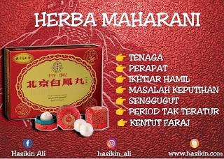 HARGA MURAH HERBA MAHARANI IKHTIAR HAMIL SETIAWANGSA