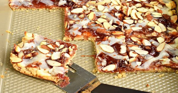 Strawberry Almond Bars Recipe