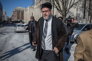 Rabbi Barry Freundel leaves D.C. Superior Court on Feb. 19, 2015, in Washington. (Evelyn Hockstein for The Washington Post)