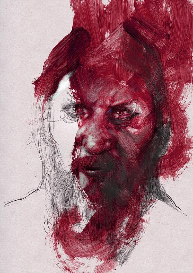 Portrait 251 Grigorij Efimovič Novy Rasputin