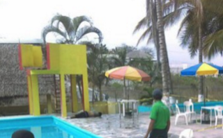 "Joven se ahoga en balneario ""Villa Diamante"" en Palo Gacho Veracruz"