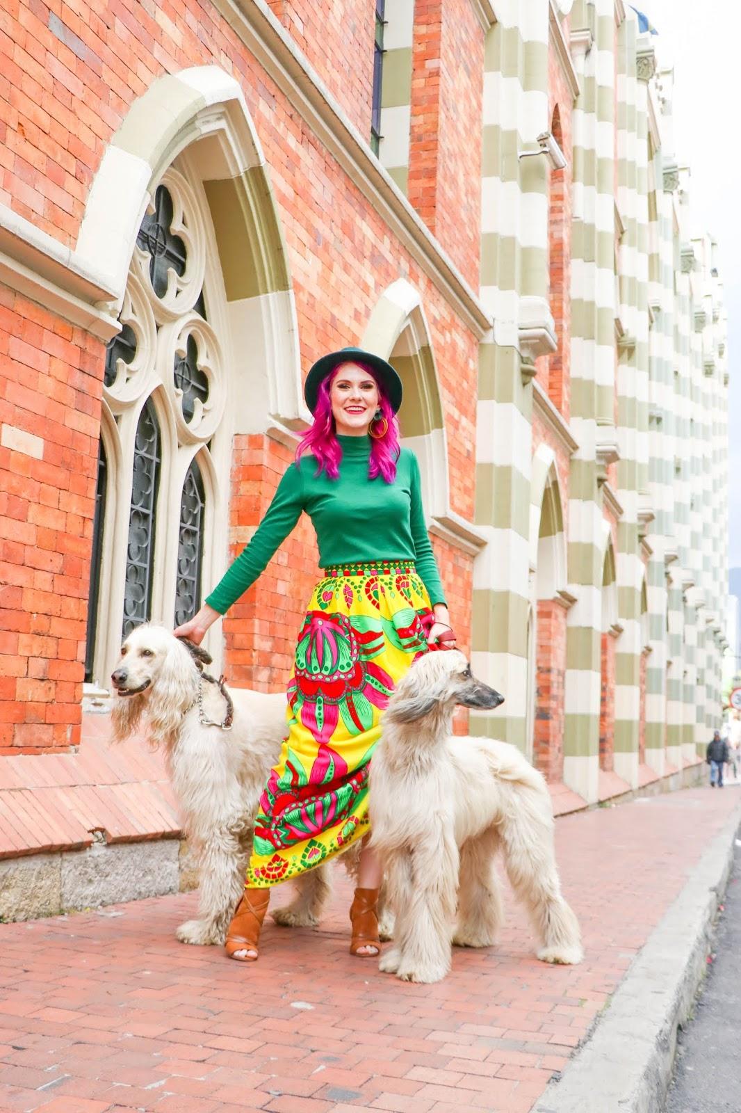 Moda viajando a Bogotá Colombia