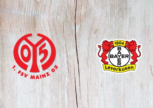 Mainz 05 vs Bayer Leverkusen -Highlights 21 December 2019