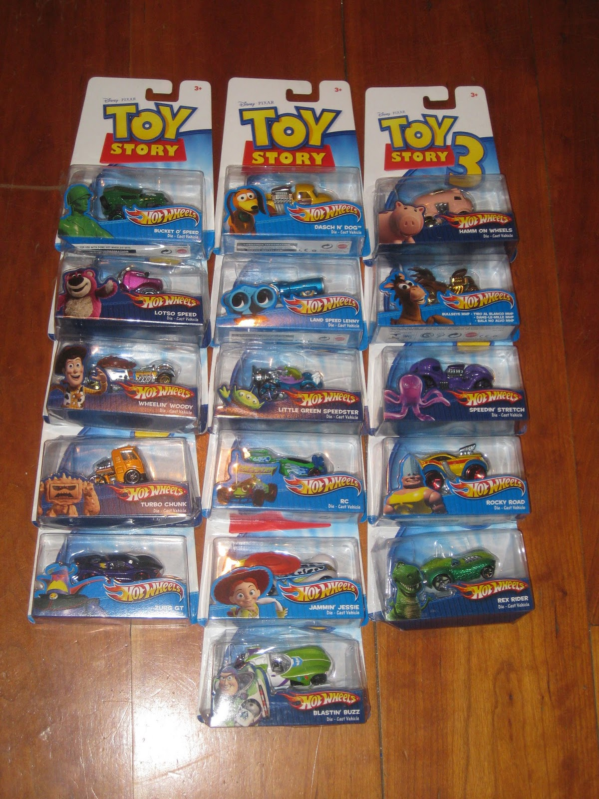toy story hot wheels character cars collection