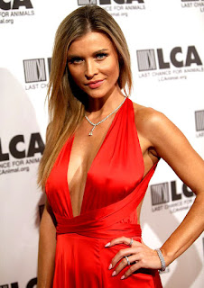 Joanna Krupa Tits Peeping In Tight Outfit