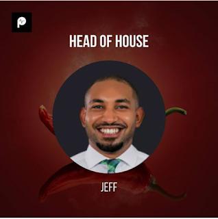 "BBNaija 2019: ""Jeff"" Emerges HEAD OF HOUSE."