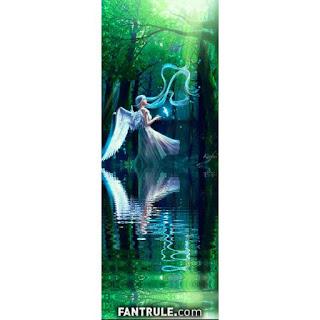 Imágenes de Ángeles mujeres con alas paisaje bello verde