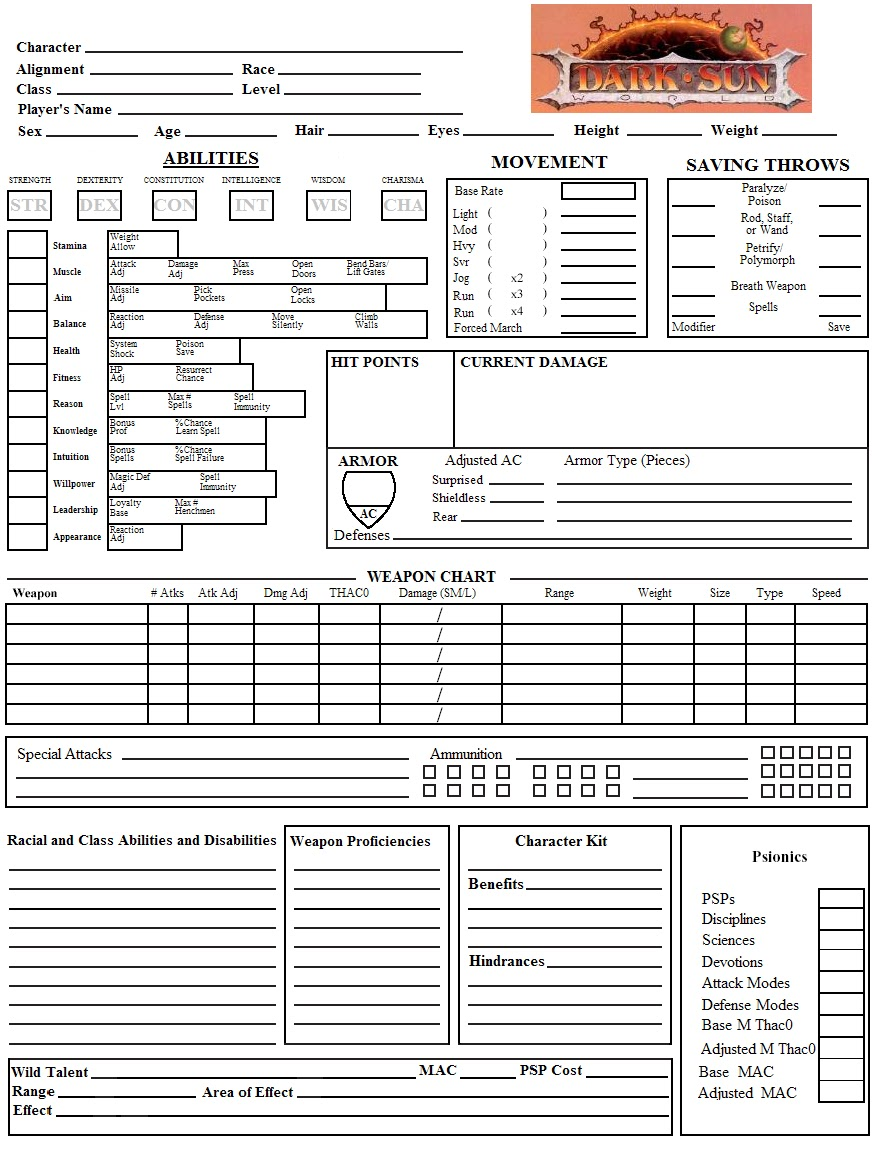 Armoured Vehicles Latin America ⁓ These D@d Character Sheet
