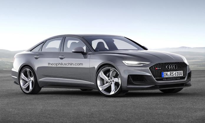 Rendering Kommt So Der Neue Audi Rs6 Myauto24 Das Autoblog Im