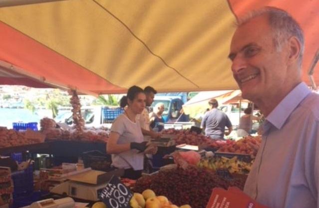 Γ. Γκιόλας: Γνωστοποίηση ανακοίνωσης του Προεδρείου της Πανελλήνιας Ομοσπονδίας παραγωγών λαϊκών αγορών για έκτακτη ενίσχυση των μελών της