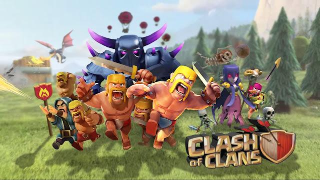 لعبة كلاش اوف كلانس مهكرة clash of clans hack آخر اصدار update(التحديث الجديد) للاندريد 2017