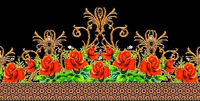 Jwellery-border-motif