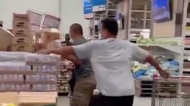 Viral Video Warga Berebut Susu Beruang sampai Saling Dorong, Panic Buying Jelang PPKM?