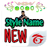 Style Font For Free Fire (New 2020 )  APP FREE DOWNLOADS TO MOBULE