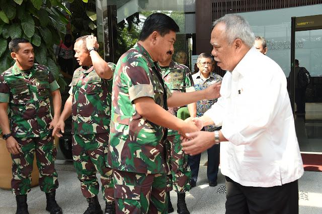 Panglima TNI Temui Menteri PUPR