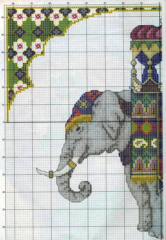 Contemporáneo Elefante Patrón De Ganchillo Bosquejo - Coser Ideas ...