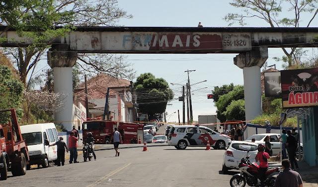 Mulher é resgatada de pontilhão em Lucélia após tentativa de suicídio  - Adamantina Notìcias