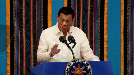 الرئيس الفلبيني، رودريغو دوتيرتي، حكومة الولايات المتحدة، لقاح كورونا،  القوات الأمريكية،  فيروس كورونا ، كوفيد19 ، حربوشة نيوز
