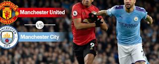 Prediksi Pertandingan Manchester United Vs City