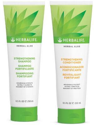 M I S S B E A U T Y A D I K T Herbalife Herbal Aloe Strengthening Shampoo Conditioner