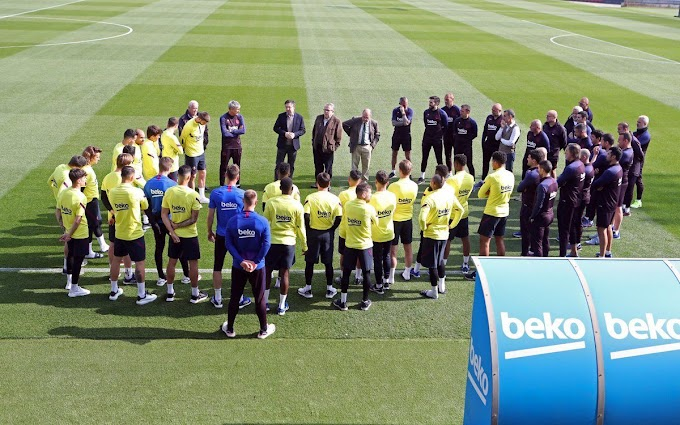 Messi Absent As Barcelona Team Undergoes COVID-19 Tests Ahead Of Training