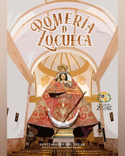 Cartel Rememorativo de la Romería de Zocueca 2021