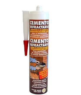 cartuccia cemento refrattario
