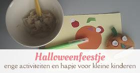 halloween feestje kleine kinderen