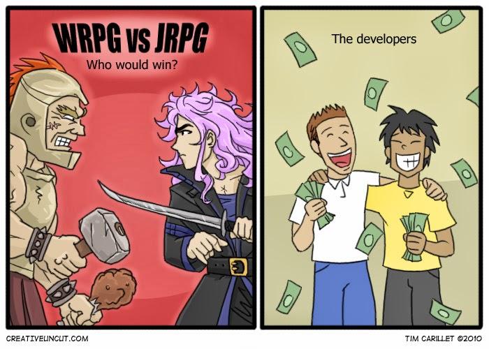 RPG VS JRPG