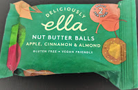 Deliciously Ella Nut Butter Balls Apple Cinnamon and Almond