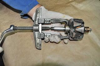 extracción rodamiento-bearing NTN 6203LU alternator rebuild Valeo 43619