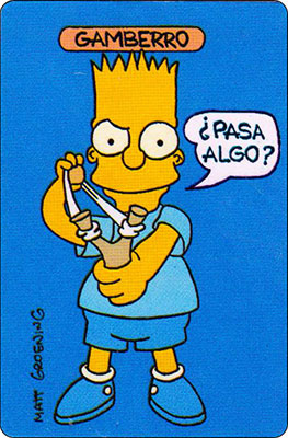 Bollycao The Simpsons Cromo 41