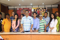 Kiran Chetwani with Janani Iyyer and others at Lakshmi Devi Samarpinchu Nede Chudandi Movie Interview 010.JPG