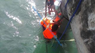 perbaikan struktur jetty