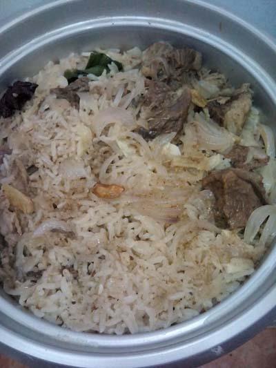 Resepi Nasi Daging Utara!!