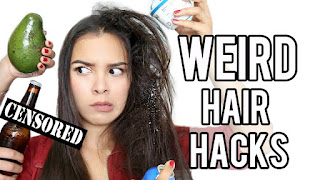 11 Weird Hair Hacks For Frizzy Hair Using Household Items