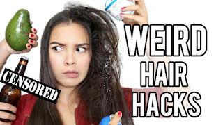 11 Weird Hair Hacks For Frizzy Hair Using Household Items