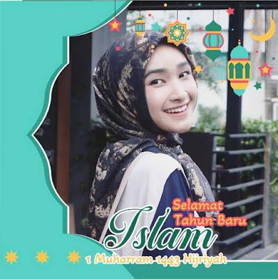 Bingkai Twibbon Tahun Baru Islam 02